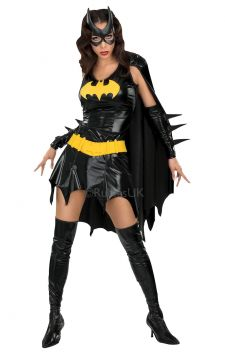 Batgirl For Sale - It's guaranteed to be a hot night in Gotham City as you party on down as Batman's closest ally . Just make sure pandemonium does not break out if you need to squeeze past other... | The Costume Corner Fancy Dress Super Store