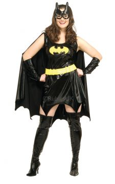 Plus Size - Batgirl For Sale - Cleaning up crime is the dream of every good citizen. So step into the boots of Gotham City Public Library's head librarian, a.k.a. Batgirl from DC Comics. You'll be putting aw... | The Costume Corner Fancy Dress Super Store