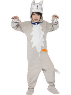 Battersea Smudge the Cat For Sale - Jumpsuit with hood | The Costume Corner Fancy Dress Super Store