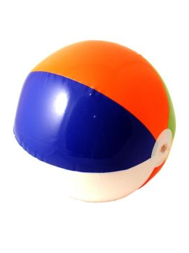 Beach Ball For Sale - Inflatable Beach Ball. 40cm | The Costume Corner Fancy Dress Super Store