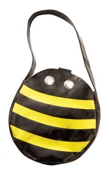 Bee Bag For Sale - Black and Yellow Bumble Bee Bag. Perfect for matching with one of our Bee Costumes! Stash your phone and lipstick in this without ruinng the look of the outfit and enjoy your n... | The Costume Corner Fancy Dress Super Store