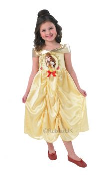 Belle For Sale - Enjoy a special moment as you dress up in Belle's golden ball gown, ready to share your first dance to the sound of Beauty and the Beast. You'll be all set to restore love and ... | The Costume Corner Fancy Dress Super Store