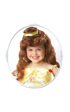 Belle Wig For Sale - Belle Wig  | The Costume Corner Fancy Dress Super Store
