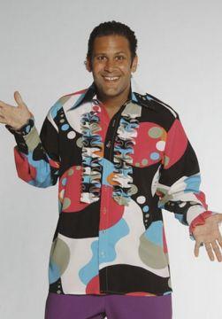 Big Bubble Print Frill Shirt For Sale - Big Bubble Print Frill Shirt (Hire Costume) | The Costume Corner