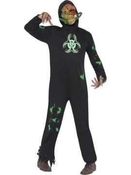 Bio Hazard For Sale - Bio Hazard Costume includes Jumpsuit and Mask. | The Costume Corner Fancy Dress Super Store