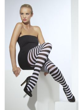 Tights - Black and White For Sale - Black and White Tights | The Costume Corner Fancy Dress Super Store