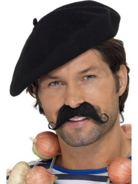 Black Beret For Sale - Black Beret. | The Costume Corner Fancy Dress Super Store