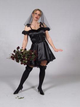 Black Bride For Sale - Black Bride (Hire Costume) | The Costume Corner
