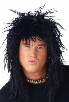 Black Rocker wig For Sale - Black rocker wig - Michael Jackson, Prince  | The Costume Corner Fancy Dress Super Store