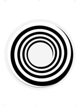 Black Spiral For Sale - Black Spiral, 1 Day Wear, in Display Box. 2 Per pack | The Costume Corner Fancy Dress Super Store