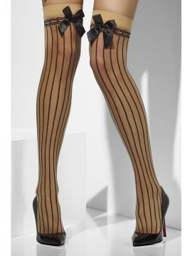 Stockings - Black For Sale - Black Thigh High Stockings | The Costume Corner Fancy Dress Super Store