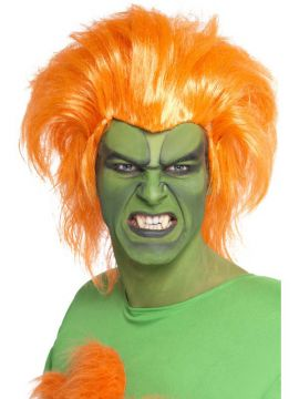Blanka wig For Sale - Blanka Wig, Street Fighter IV | The Costume Corner Fancy Dress Super Store