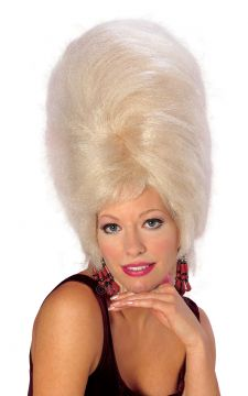 Beehive Wig - Blonde For Sale - Blonde Beehive Wig | The Costume Corner Fancy Dress Super Store