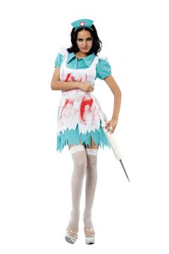Blood Splattered Nurse For Sale - Includes dress, apron & hat