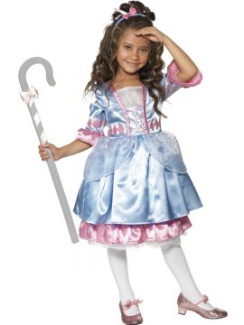 Little Bo Peep For Sale - Little Bo Peep Costume. Includes blue and pink dress, matching headband and crook. | The Costume Corner Fancy Dress Super Store