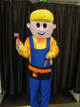 Bob the Builder Mascot For Sale -  | The Costume Corner