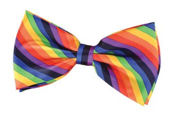 Bow Tie - Rainbow Clown For Sale - Rainbow Clown Bow Tie | The Costume Corner Fancy Dress Super Store