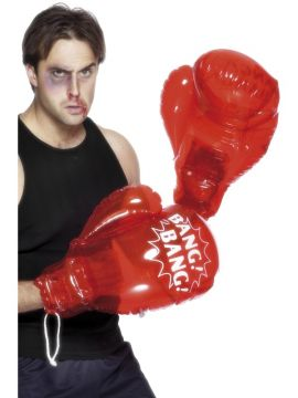 Boxing Gloves For Sale - Inflatable boxing gloves in red. | The Costume Corner Fancy Dress Super Store