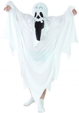 Boys Ghost Costume For Sale - Contains robe and hooded mask