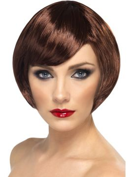 Babe Wig - Brown For Sale - Brown Babe Wig | The Costume Corner Fancy Dress Super Store