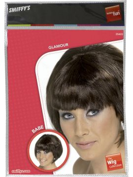 Wig - Brown Babe For Sale - Brown Babe Wig | The Costume Corner Fancy Dress Super Store