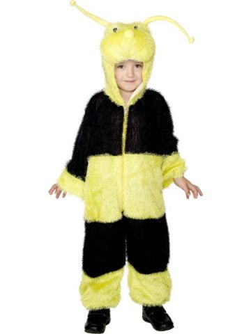Bumble Bee For Sale - Black and yellow striped bumble bee costume for sale with included hood. | The Costume Corner Fancy Dress Super Store