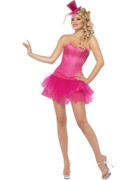 Burlesque Beauty - Pink For Sale - Pink Burlesque Beauty costume   The Costume Corner Fancy Dress Super Store