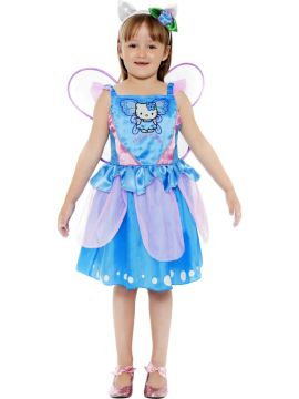 Hello Kitty - Butterfly Fairy For Sale - Hello Kitty Fairy Dress with wings and headband. | The Costume Corner Fancy Dress Super Store