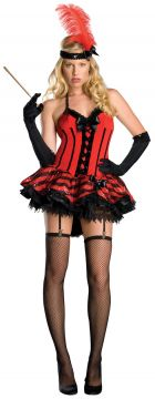 Cabaret For Sale - Dress with attached garters, gloves and headpiece. | The Costume Corner Fancy Dress Super Store