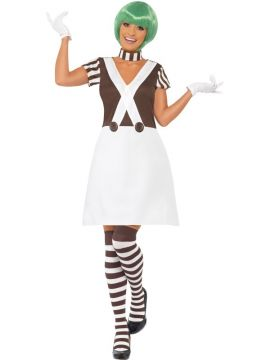 Candy Creator For Sale - Candy Creator Female Costume, Dress, Collar, Gloves and Stockings. | The Costume Corner Fancy Dress Super Store