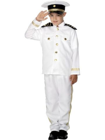 Captain For Sale - Boy Captain Costume includes hat, top and trousers. | The Costume Corner Fancy Dress Super Store