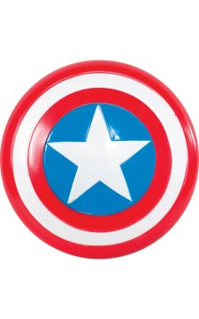 Captain America Sheild For Sale - Plastic Captain America Sheild in packaging | The Costume Corner Fancy Dress Super Store