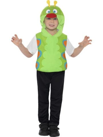 Caterpillar For Sale - Caterpillar Costume, Green, With Tabard With Hood | The Costume Corner Fancy Dress Super Store