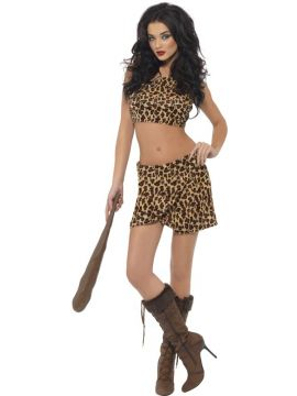 Cave Girl For Sale - Cave girl black and brown 2 piece. | The Costume Corner Fancy Dress Super Store