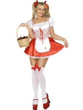 Cherry Picker For Sale - Fever Cherry Picker Dress | The Costume Corner Fancy Dress Super Store
