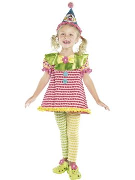 Clown Cutie For Sale - Clown Cutie Costume. Includes red dress, trousers and hat | The Costume Corner Fancy Dress Super Store
