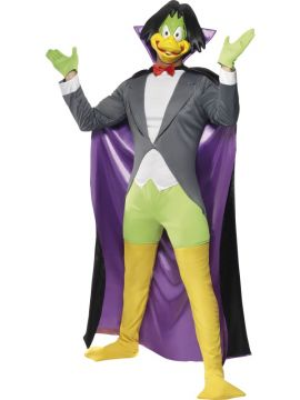 Count Duckula For Sale - Count Duckula Costume includes mask, jacket with attached shirt, leggings, shorts, cape, shoe covers and gloves.  | The Costume Corner Fancy Dress Super Store