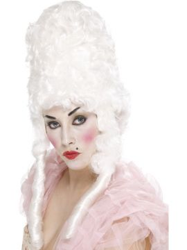 Court Lady Wig For Sale - White Court Lady wig | The Costume Corner Fancy Dress Super Store