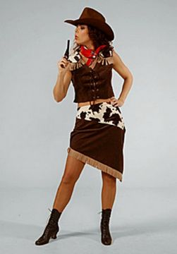 Cowgirl two piece For Sale - Cowgirl two piece (Hire Costume) | The Costume Corner
