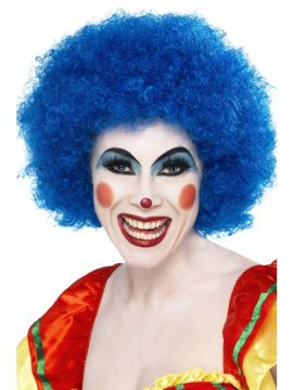Clown Wig - Blue For Sale - Crazy Clown Wig, Blue | The Costume Corner Fancy Dress Super Store