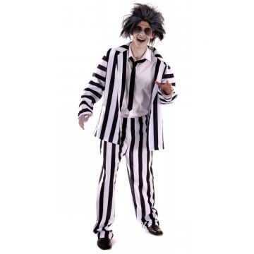 Crazy Ghost For Sale - Contains Jacket & Trousers Mens Standard One Size | The Costume Corner Fancy Dress Super Store