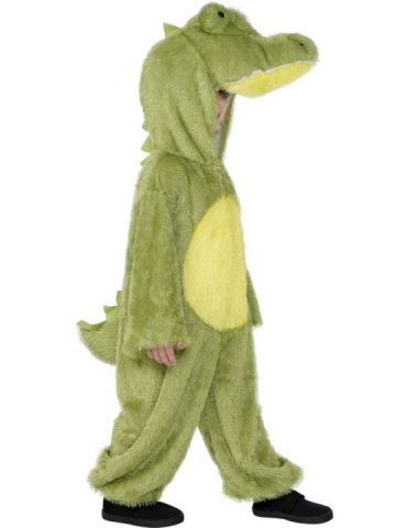 Crocodile For Sale - Plush Crocodile costume with attached hood. | The Costume Corner Fancy Dress Super Store