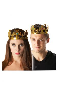 Crown For Sale - Jewelled Crown for adults. | The Costume Corner Fancy Dress Super Store