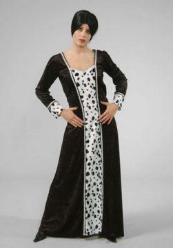 Cruella For Sale - Cruella Dress Long (Hire Costume) | The Costume Corner