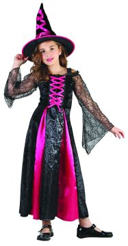Cute Pink Witch For Sale - Includes Dress & Hat