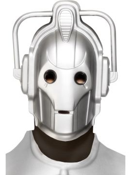 Cyberman Mask For Sale - Cyberman Mask | The Costume Corner Fancy Dress Super Store