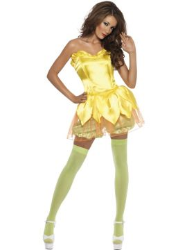 Daffodil Darling For Sale - Daffodil Darling Costume Includes dress and shorts. | The Costume Corner Fancy Dress Super Store