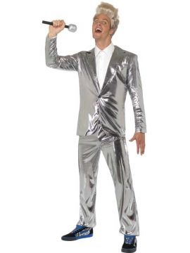 Dedward For Sale - Dedward Costume, Silver, With Top and Trousers | The Costume Corner Fancy Dress Super Store