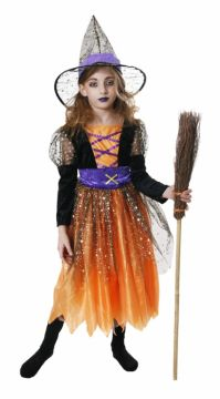 Deluxe Star Witch For Sale - Contains Dress & Hat