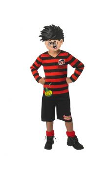 Dennis The Menace For Sale - Who can resist a day - or even an hour - as Dennis The Menace, the perfect excuse to spread a little chaos? But if you're Dennis, who will you pick as your mates Curly and Pie-... | The Costume Corner Fancy Dress Super Store